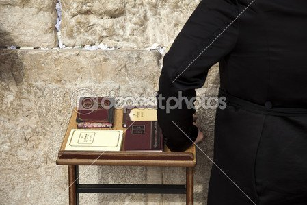 depositphotos_22410299-Psalms-Books-at-the-Wailing-Wall